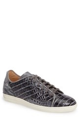 Mezlan Men's Hickman Genuine Crocodile Sneaker
