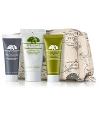 Origins Receive A Free Cosmetics Bag 3 Deluxe Samples With 55 Purchase