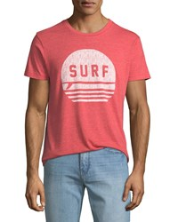 Sol Angeles Surf Graphic T Shirt Red