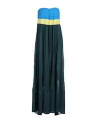 Pinko Dresses Long Dresses Women Dark Green