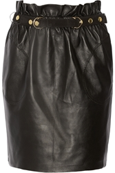 Adam By Adam Lippes Belted Leather Mini Skirt