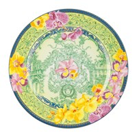 Versace 25Th Anniversary D.V. Floralia Plate Limited Edition