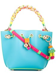 Sophia Webster Mini Remy Tote Blue