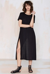 Nasty Gal Cross Out Maxi Tee