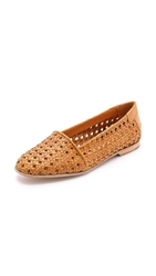 Hudson Coco Woven Flats Yellow