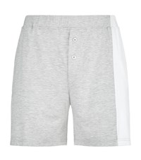 Homebody Colour Block Lounge Shorts Grey