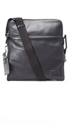 Tumi Harrison Leather Stratton Cross Body Bag Black