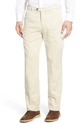 Men's Peter Millar Stretch Linen Blend Cargo Pants