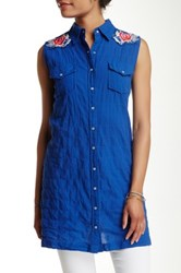3J Workshop Sleeveless Tunic Blue