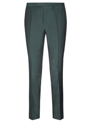 John Lewis Kin By Stamford Tonic Suit Trousers Emerald Green