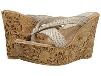 Sbicca Marcely Off White Women's Wedge Shoes