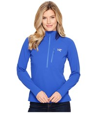 Arc'teryx Psiphon Sl Pullover Somerset Blue Women's Long Sleeve Pullover