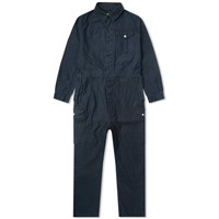 Nigel Cabourn Lybro Military Coveralls Blue