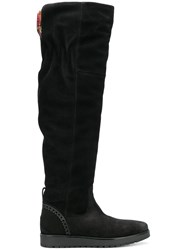 Tommy Hilfiger Knee Length Boots Black
