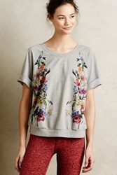 Pure Good Botanica Knit Tee Botanical Motif