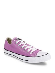 Converse Chuck Taylor All Star Canvas Low Top Sneakers Fuschia Glow Shark Skin Camo Green Sunset Glow