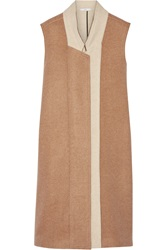 Tome Two Tone Wool Blend Felt Gilet