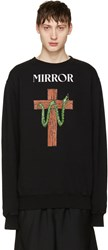 Off White Black Snake Mirror Pullover