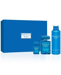 Perry Ellis 3 Pc. Aqua Gift Set No Color