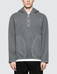 Christophe Lemaire Hooded Zipped Sweater