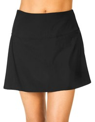 Miraclesuit Fit And Flare Swimskirt Black