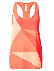 Under Armour Geo Run Tank Top Orange