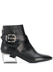 Premiata Cut Out Heel Ankle Boots 60