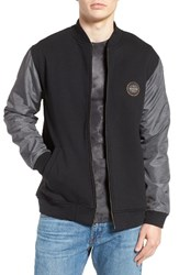 Quiksilver Men's Carbon Cycle Bomber Jacket
