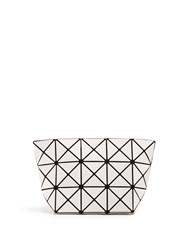 Issey Miyake Prism Cosmetics Pouch White