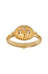 Temple St Clair Women's St. Diamond Owl Ring