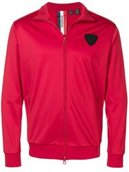 Rossignol Logo Patch Sports Jacket Red