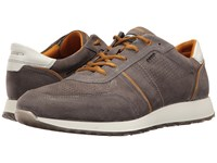 Ecco Summer Sneak Warm Grey Dried Tobacco Men's Lace Up Casual Shoes Gray