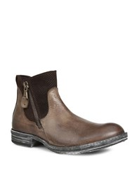 Gbx Tacks Leather Boots Brown