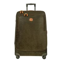 Bric's Life Carry On Trolley Suitcase Olive Tan 82Cm