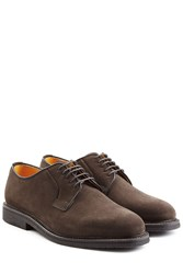 Ludwig Reiter Suede Lace Ups Brown