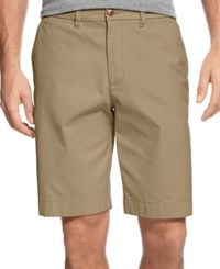 Tommy Hilfiger Men's Big And Tall Chino Shorts Mallet