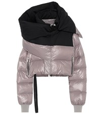 Unravel Quilted Down Jacket Grey