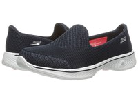 Skechers Go Walk 4 Propel Navy White Women's Shoes Blue