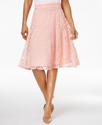 Ny Collection Petite Lace A Line Skirt Blossom Ivyvine