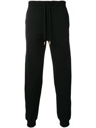 Billionaire Drawstring Track Pants Black