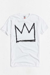 Urban Outfitters Basquiat Crown Tee White