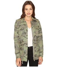 Billabong Can't See Me Jacket Seagrass Women's Coat Green