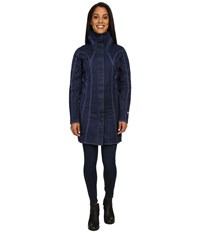 Kuhl Lena Trench Midnight Sky Women's Coat Blue