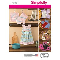 Simplicity Craft Towel Dress And Glove Sewing Pattern 8109