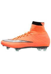 Nike Performance Mercurial Superfly Fg Football Boots Bright Mango Metallic Silver Hyper Turquoise Orange