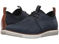 Hush Puppies Performance Expert Navy Nubuck Lace Up Casual Shoes Blue
