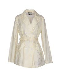 Museum Coats And Jackets Full Length Jackets Women Ivory