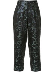 Biyan Tapered Floral Trousers Multicolour