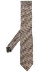 Tom Ford Patterned Tie Grey