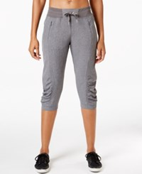 Calvin Klein Performance Capri Pants Grey Melange